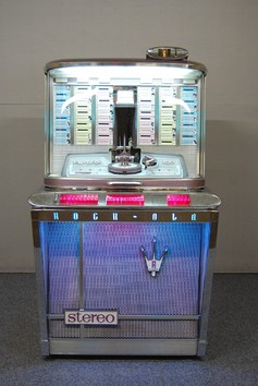Juke-box Cools - Empress - Model 1496