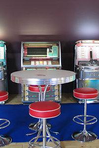 Juke-box Cools - Retrodecoratie